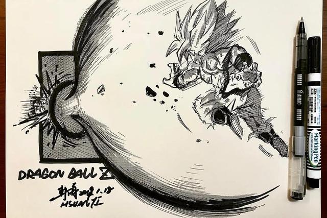 Dragon Ball: Mãn nhãn xem lại cuộc chiến giữa Frieza với Goku và nhóm chiến binh Z được tóm tắt qua tranh vẽ - Ảnh 17.