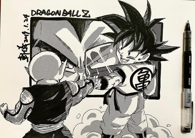 Dragon Ball: Mãn nhãn xem lại cuộc chiến giữa Frieza với Goku và nhóm chiến binh Z được tóm tắt qua tranh vẽ - Ảnh 20.