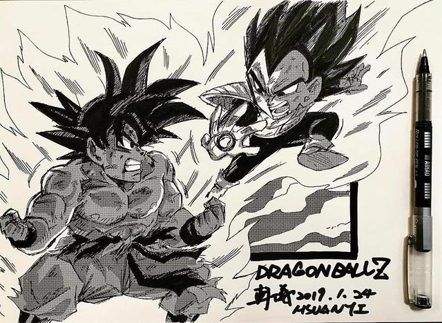 Dragon Ball: Mãn nhãn xem lại cuộc chiến giữa Frieza với Goku và nhóm chiến binh Z được tóm tắt qua tranh vẽ - Ảnh 22.