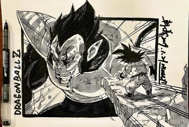 Dragon Ball: Mãn nhãn xem lại cuộc chiến giữa Frieza với Goku và nhóm chiến binh Z được tóm tắt qua tranh vẽ - Ảnh 23.
