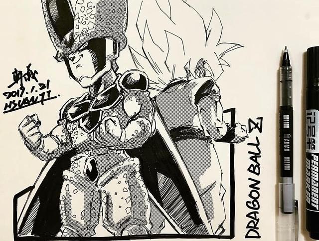 Dragon Ball: Mãn nhãn xem lại cuộc chiến giữa Frieza với Goku và nhóm chiến binh Z được tóm tắt qua tranh vẽ - Ảnh 26.