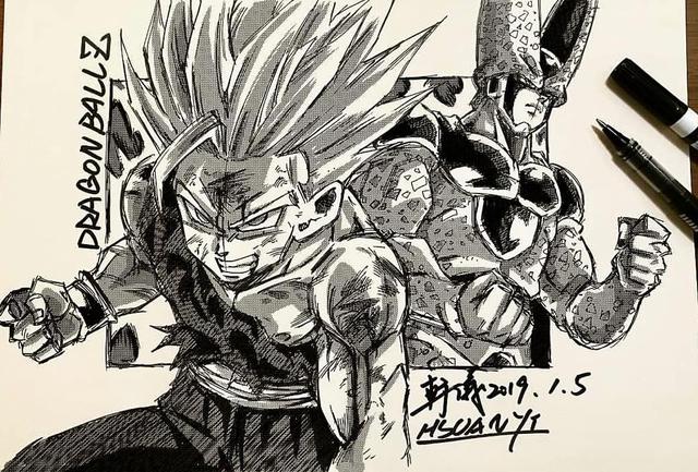 Dragon Ball: Mãn nhãn xem lại cuộc chiến giữa Frieza với Goku và nhóm chiến binh Z được tóm tắt qua tranh vẽ - Ảnh 27.