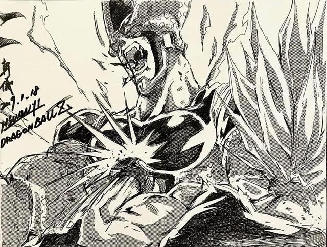 Dragon Ball: Mãn nhãn xem lại cuộc chiến giữa Frieza với Goku và nhóm chiến binh Z được tóm tắt qua tranh vẽ - Ảnh 28.
