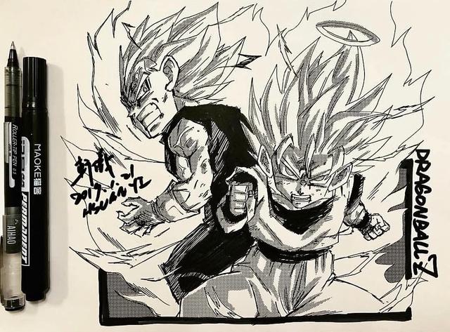 Dragon Ball: Mãn nhãn xem lại cuộc chiến giữa Frieza với Goku và nhóm chiến binh Z được tóm tắt qua tranh vẽ - Ảnh 29.