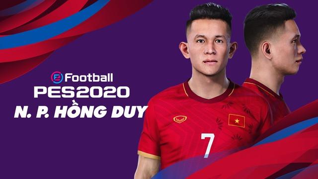 Game thủ Việt tâm huyết, mang đội tuyển Việt Nam lên PES 20, đẹp xuất sắc và giống y xì đúc ngoài đời - Ảnh 2.