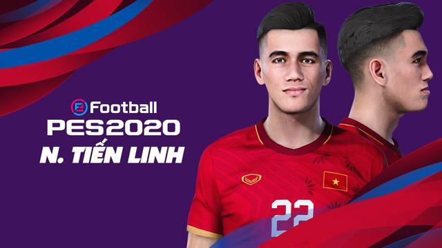 Game thủ Việt tâm huyết, mang đội tuyển Việt Nam lên PES 20, đẹp xuất sắc và giống y xì đúc ngoài đời - Ảnh 3.
