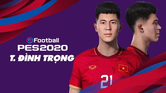 Game thủ Việt tâm huyết, mang đội tuyển Việt Nam lên PES 20, đẹp xuất sắc và giống y xì đúc ngoài đời - Ảnh 4.