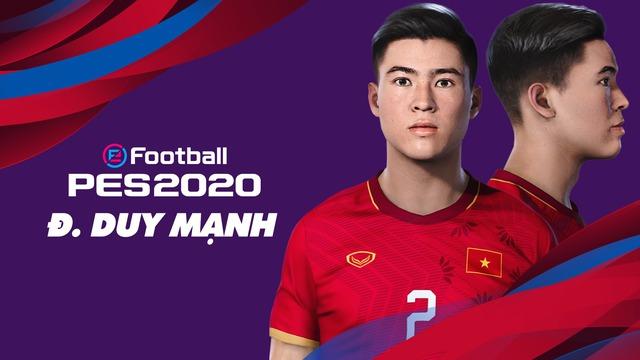 Game thủ Việt tâm huyết, mang đội tuyển Việt Nam lên PES 20, đẹp xuất sắc và giống y xì đúc ngoài đời - Ảnh 5.