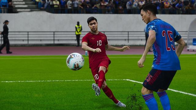 Game thủ Việt tâm huyết, mang đội tuyển Việt Nam lên PES 20, đẹp xuất sắc và giống y xì đúc ngoài đời - Ảnh 9.