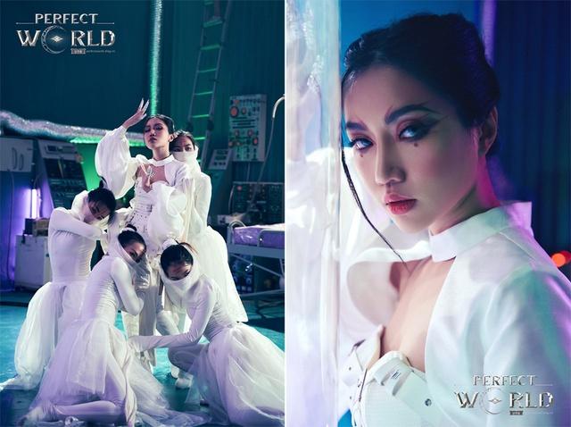 Orange đẹp ma mị trong bộ ảnh hóa thân hồ ly Perfect World VNG - Ảnh 4.