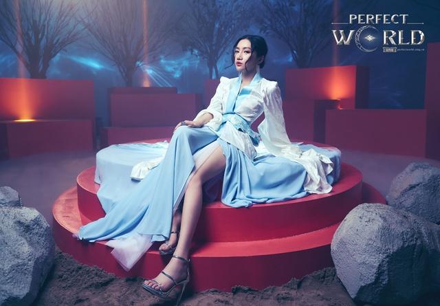 Orange đẹp ma mị trong bộ ảnh hóa thân hồ ly Perfect World VNG - Ảnh 5.