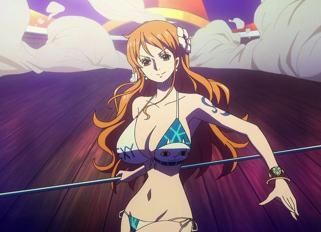 Nami của One Piece nổi bật trong dàn nữ chính của các bộ manga của Nhật Bản phát hành trên Shonen Jump