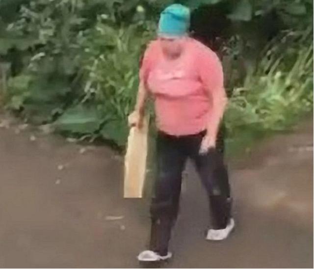 Phát hiện cặp đôi thiếu ý thức đang mây mưa trong bụi cỏ trước nhà, cụ bà bá đạo cầm ván gỗ lao vào đánh chí mạng liên tục - Ảnh 4.