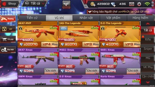 Tin lời VNG, game thủ bỏ ra hàng triệu Đồng để mua vũ khí huyền thoại, cay đắng phát hiện ra mình bị lừa - Ảnh 1.