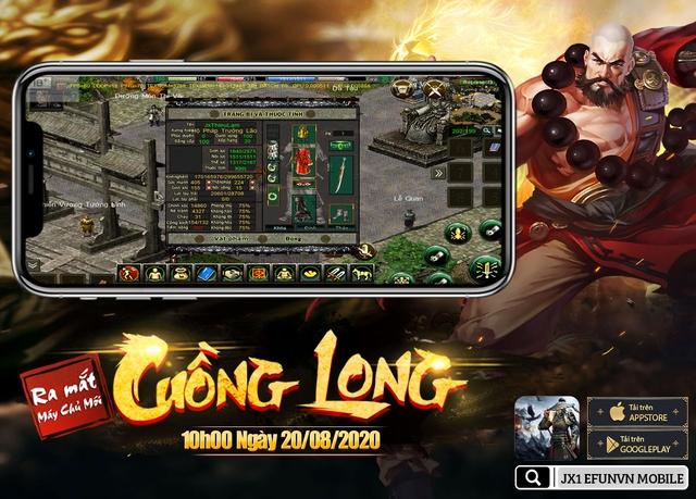 Jx1 Efunvn Mobile - tựa game di động tái hiện hoàn hảo nhất Võ Lâm Truyền Kỳ 2005 - Ảnh 3.
