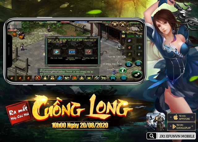 Jx1 Efunvn Mobile - tựa game di động tái hiện hoàn hảo nhất Võ Lâm Truyền Kỳ 2005 - Ảnh 4.