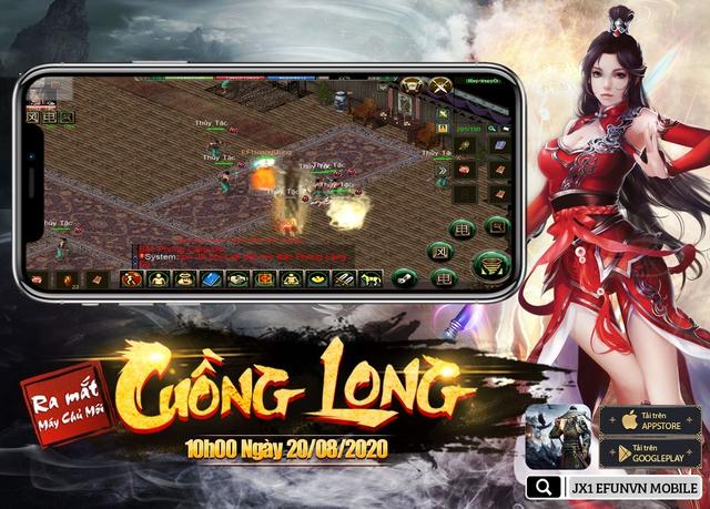 Jx1 Efunvn Mobile - tựa game di động tái hiện hoàn hảo nhất Võ Lâm Truyền Kỳ 2005 - Ảnh 8.