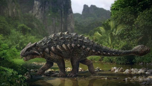 Top 10 loài khủng long nguy hiểm nhất thời tiền sử, khủng long bạo chúa vẫn còn hiền chán - Ảnh 4.