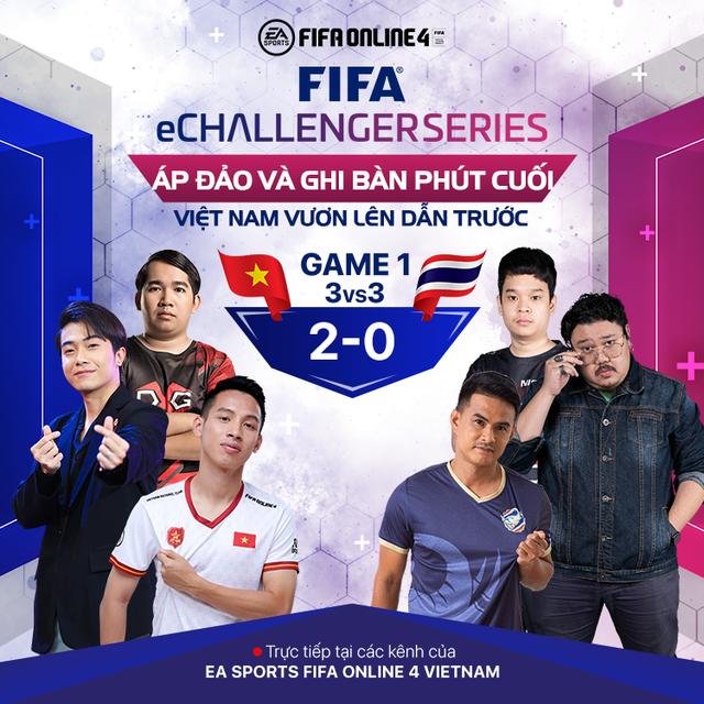 Cris Phan, Hùng Dũng, Vermisse giúp Việt Nam trở thành nhà vua của FIFA eChallenger sau khi đả bại Thái Lan 3-1 - Ảnh 1.