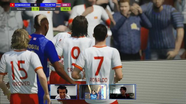 Cris Phan, Hùng Dũng, Vermisse giúp Việt Nam trở thành nhà vua của FIFA eChallenger sau khi đả bại Thái Lan 3-1 - Ảnh 2.