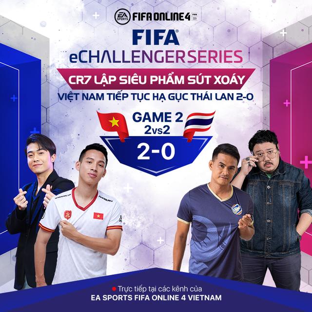 Cris Phan, Hùng Dũng, Vermisse giúp Việt Nam trở thành nhà vua của FIFA eChallenger sau khi đả bại Thái Lan 3-1 - Ảnh 3.
