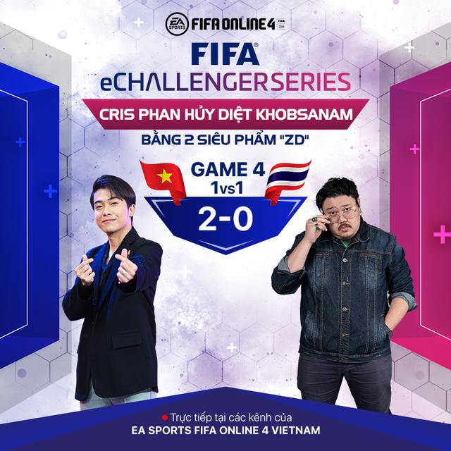 Cris Phan, Hùng Dũng, Vermisse giúp Việt Nam trở thành nhà vua của FIFA eChallenger sau khi đả bại Thái Lan 3-1 - Ảnh 7.