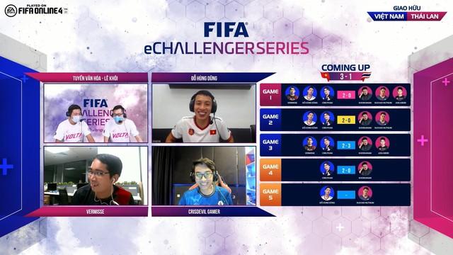 Cris Phan, Hùng Dũng, Vermisse giúp Việt Nam trở thành nhà vua của FIFA eChallenger sau khi đả bại Thái Lan 3-1 - Ảnh 8.