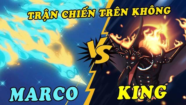 Marco và King sẽ có cuộc chạm mặt ở One Piece chap 988