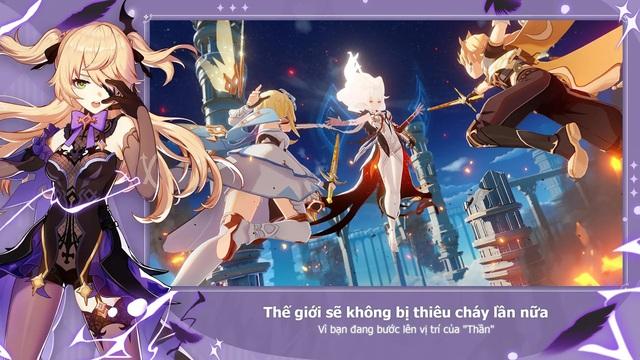 Siêu phẩm thế giới mở Genshin Impact ấn định ngày phát hành, đã cho đăng ký trước và game thủ Việt không bị bỏ rơi - Ảnh 4.
