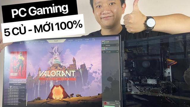 Cùng Vũ Hay Ho dựng PC mới tinh để chơi game ngon nghẻ nhưng giá chỉ 5 triệu - Ảnh 1.