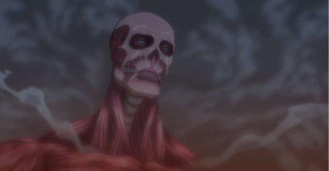 Armin sử dụng sức mạnh Titan khổng lồ