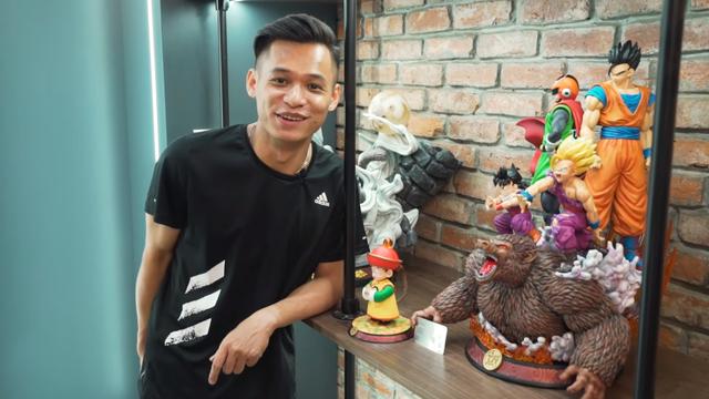 Lên livestream giới thiệu nhà mới, Độ Mixi thu hút gần 250.000 lượt xem trực tuyến, nhìn bộ sưu tập Dragon Ball mà chỉ biết ước - Ảnh 10.