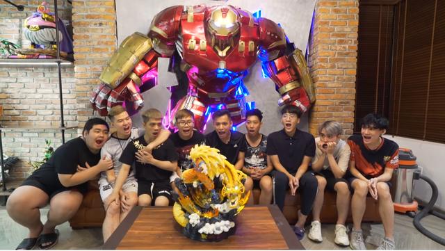 Lên livestream giới thiệu nhà mới, Độ Mixi thu hút gần 250.000 lượt xem trực tuyến, nhìn bộ sưu tập Dragon Ball mà chỉ biết ước - Ảnh 12.