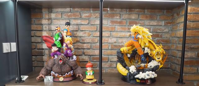 Lên livestream giới thiệu nhà mới, Độ Mixi thu hút gần 250.000 lượt xem trực tuyến, nhìn bộ sưu tập Dragon Ball mà chỉ biết ước - Ảnh 11.