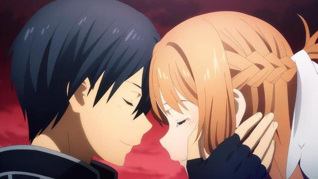 Sword Art Online: Mặc kệ Eugeo được buff cực mạnh, các fan lại thấy bủn rủn với cảnh Kirito hôn Asuna - Ảnh 2.