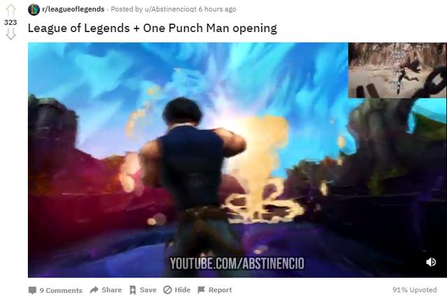 Làm video One Punch Man phiên bản LMHT chuẩn từng chi tiết, game thủ nhận mưa lời khen từ cộng đồng - Ảnh 3.
