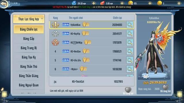 Hàng loạt siêu đại gia Ảnh Kiếm 3D đập Vip 11, tất tay đua TOP 1 giành tượng Vàng 999: Cộng đồng khiếp đảm, nín thở theo dõi - Ảnh 2.