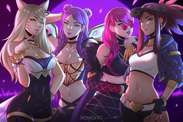 Riot Games nhá hàng sự trở lại của nhóm K/DA, tướng mới Samira phải chăng là thành viên thứ 5? - Ảnh 1.