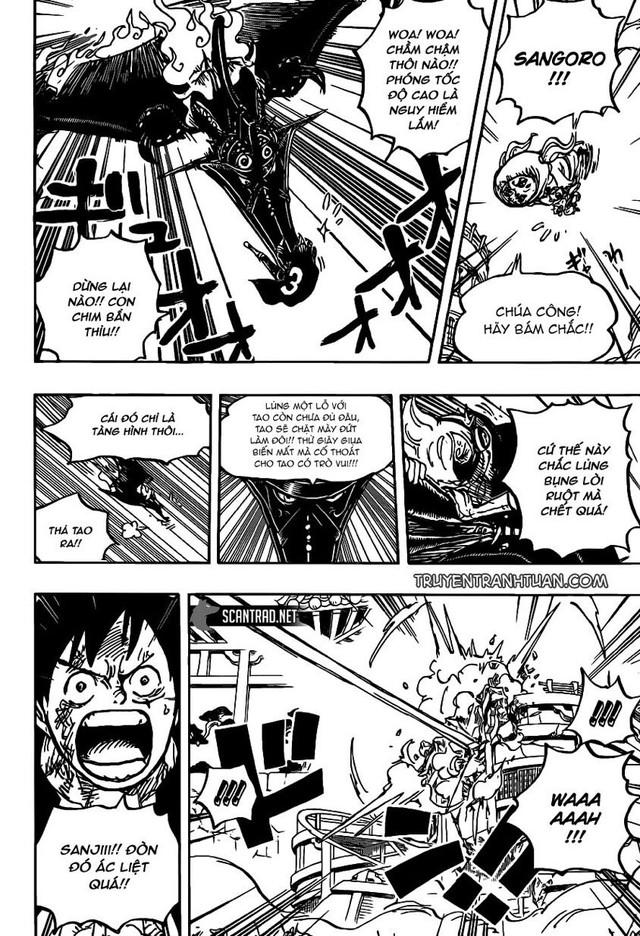 One Piece: Vua lì đòn Sanji và những lần mang boss khủng ra làm bài test về sức chịu đựng - Ảnh 2.
