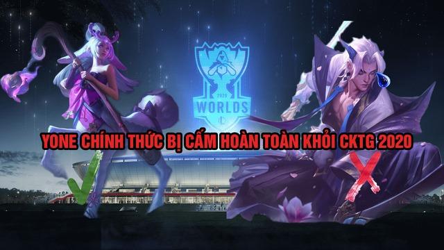 Riot Games xác nhận Yone bị cấm cửa khỏi CKTG 2020 - Chúng tôi không muốn Pantheon thứ 2 xuất hiện - Ảnh 4.