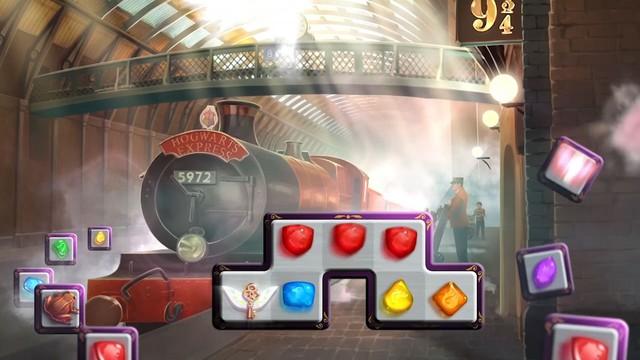 Preview Harry Potter: Puzzles & Spells - Một trò chơi giải đố xếp hình 3 khối cực kì hấp dẫn - Ảnh 1.