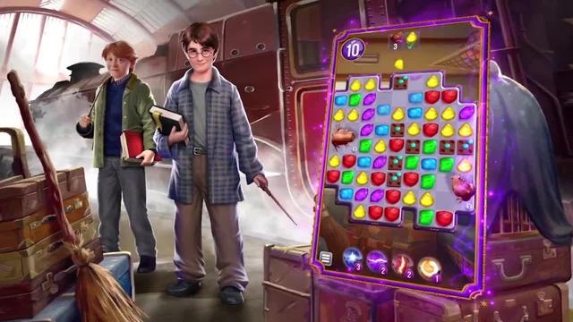 Preview Harry Potter: Puzzles & Spells - Một trò chơi giải đố xếp hình 3 khối cực kì hấp dẫn - Ảnh 2.