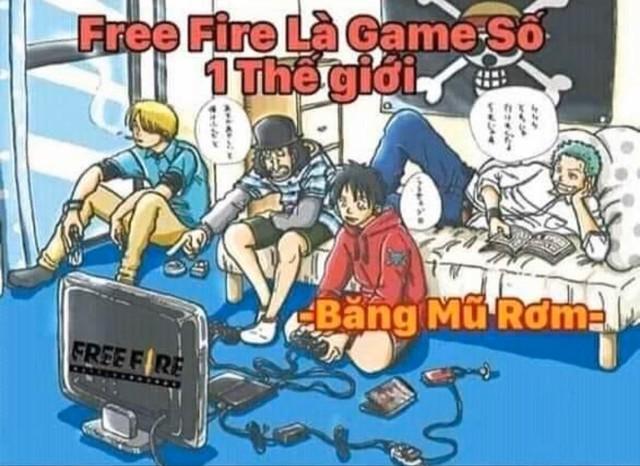 Game thủ Lửa Chùa dựng chuyện Free Fire là ước mơ cả đời của Luffy One Piece, thậm chí mang ơn As Mobile - Ảnh 2.