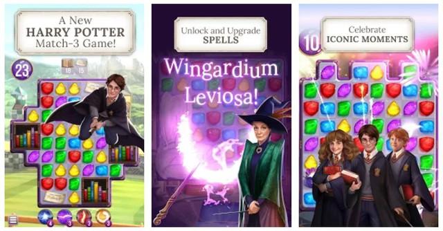 Preview Harry Potter: Puzzles & Spells - Một trò chơi giải đố xếp hình 3 khối cực kì hấp dẫn - Ảnh 3.
