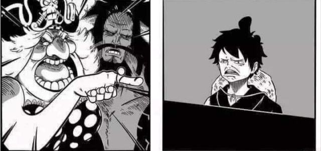 """Ảnh chế Big Mom tuyên bố với Luffy: """"Tao là trò đùa của mày đấy à"""""""