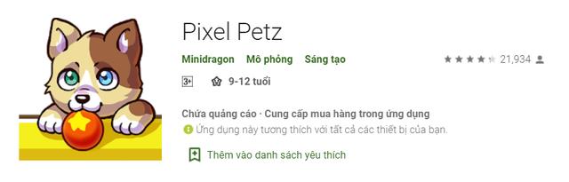 3 lý do để chơi Pixel Petz, nhà thiết kế thú cưng ảo sáng tạo của Minidragon - Ảnh 1.
