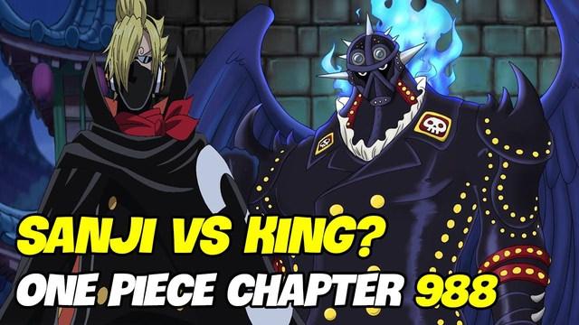 Sanji đã tỏa sáng khi giải cứu thành công Momonosuke và đối mặt với King Hỏa Hoạn