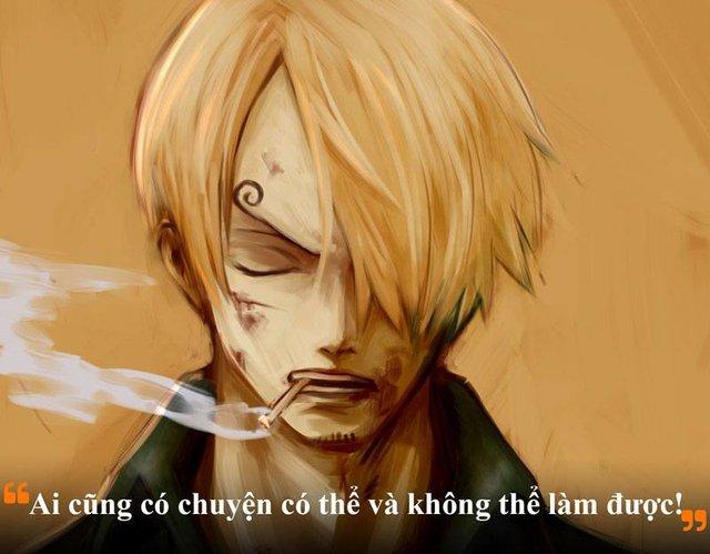 Sanji vẫn không bao giờ chấp nhận mình là người mang dòng máu của gia tộc ác quỷ Germa 66