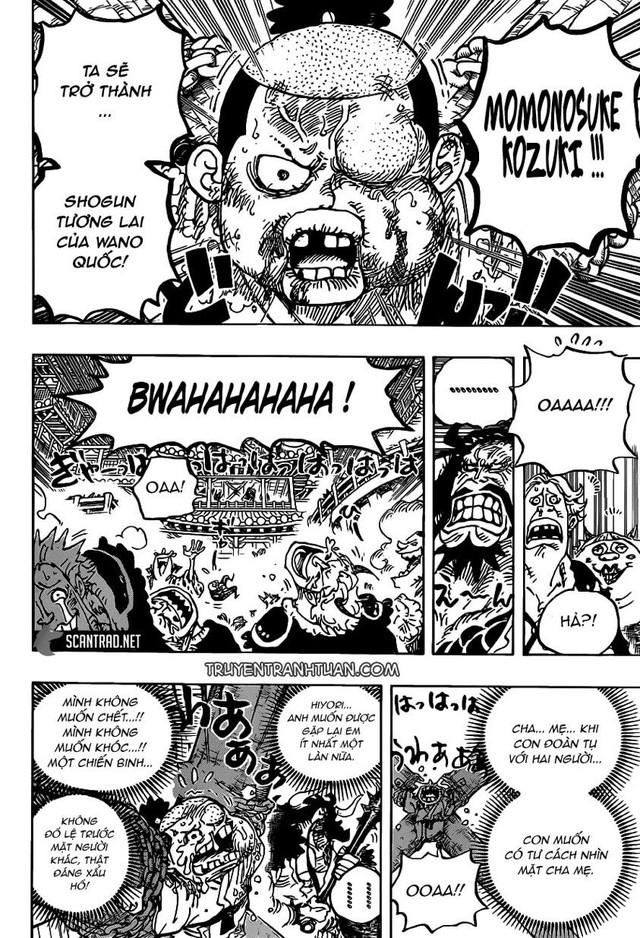 One Piece: Sau khi được Sanji cứu thoát, Momonosuke liệu có hiệu triệu thành công 10 ngàn chiến binh Samurai chống lại Kaido? - Ảnh 3.