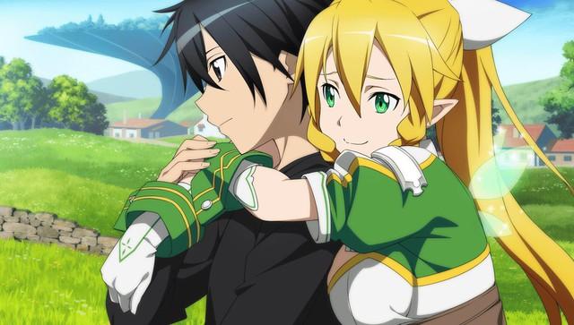 Leafa xem Kirito là điểm dựa tin tưởng nhất của mình